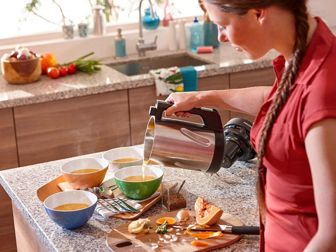 Philips Soup Maker Review Perfect for Folks Who Hate to Cook