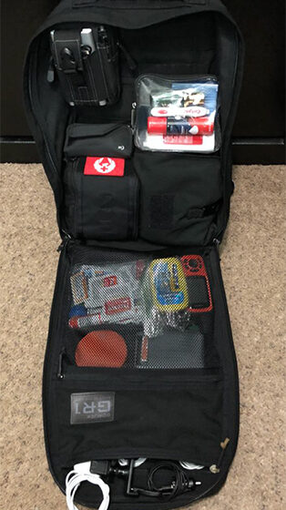Executive Protection Travel Pack