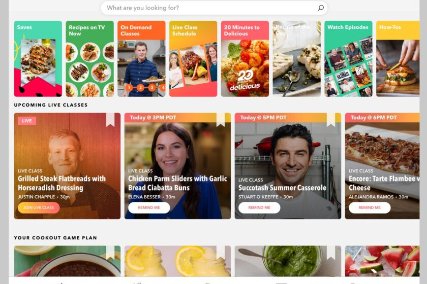 Review: Food Network Kitchen App Is Long on Recipes, Short on Diversity