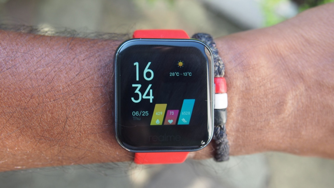 Realme Watch: Design and screen