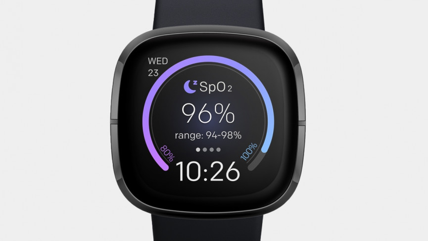 Fitbit Sense Spo2 watch face