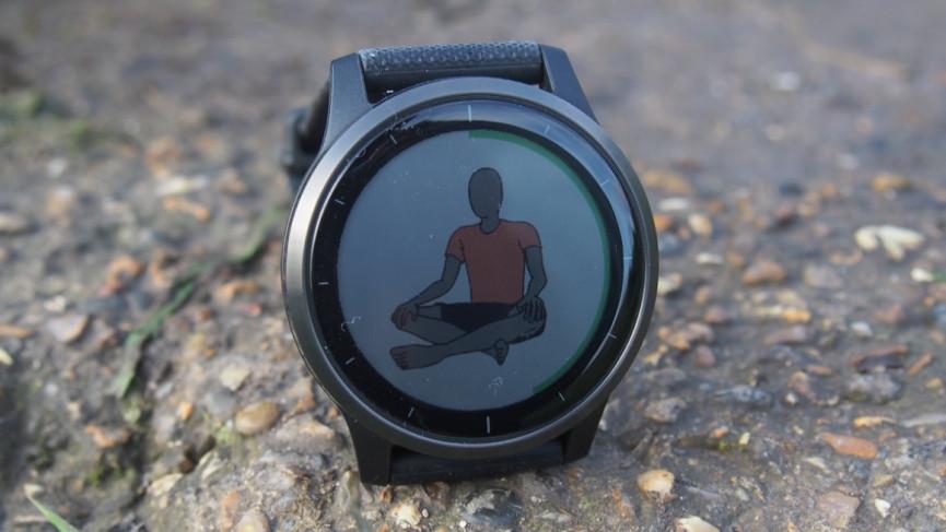 Garmin Vivoactive 4 yoga tracking
