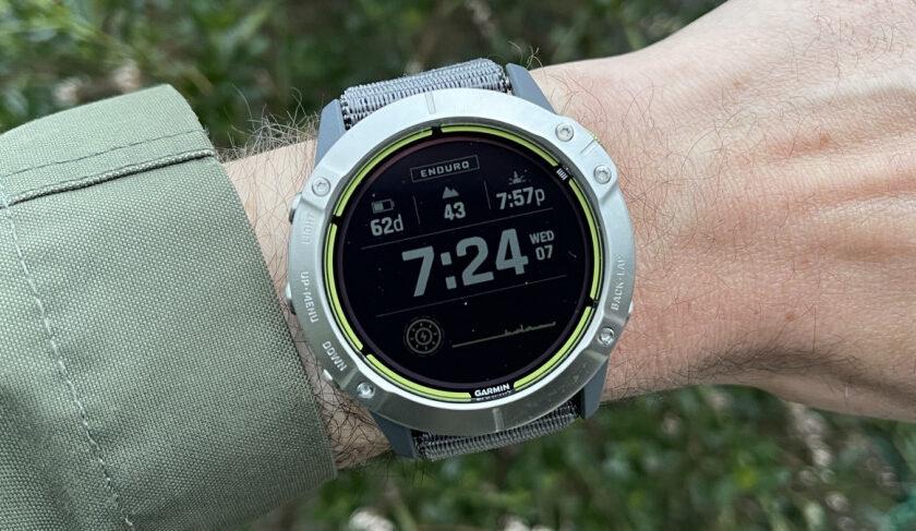 Garmin Enduro review: battery life monster tested