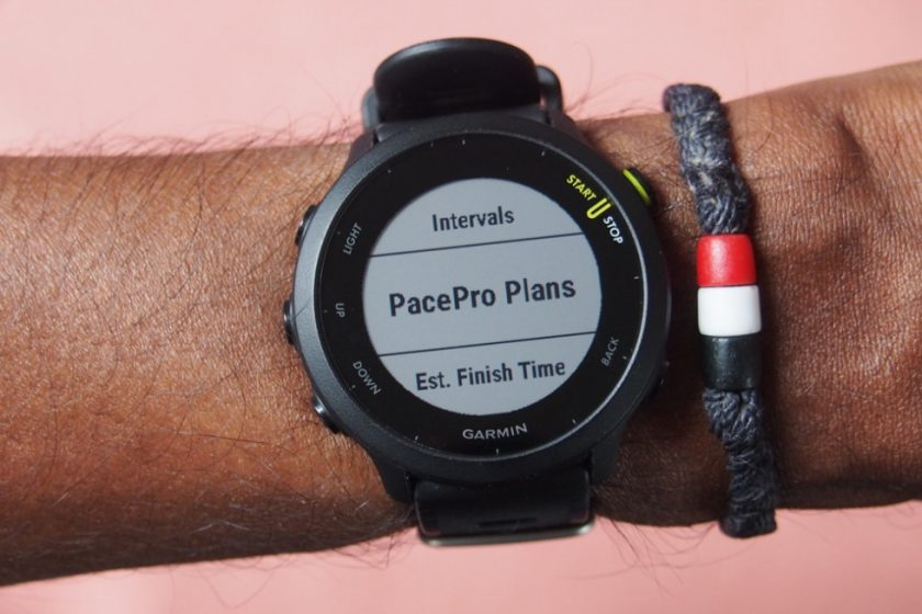 small and powerful running watch