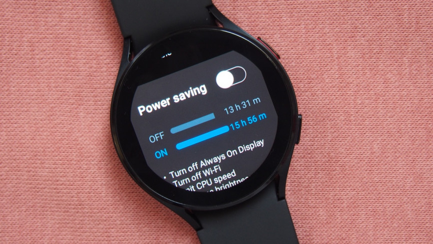 Enable power saving and watch only modes
