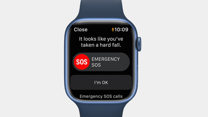 Apple Watch Series 7 fall detection