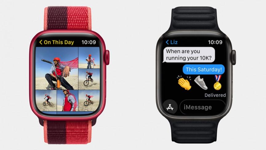 Apple Watch Series 7 bigger screen size