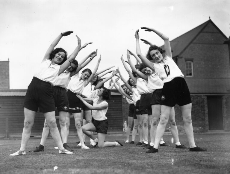 exercise 1930s