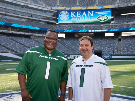 Kean Forges Education Partnership with New York Jets – The Positive Community