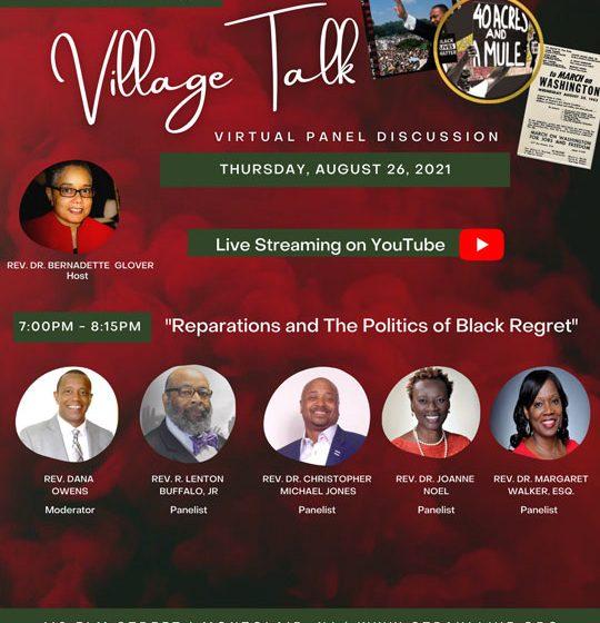 Village Talk: Reparations and The Politics of Black Regret
