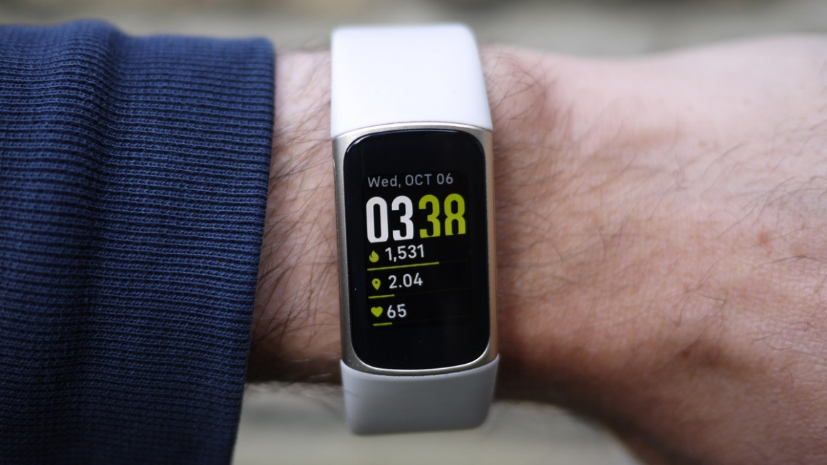 Fitbit Charge 5: design