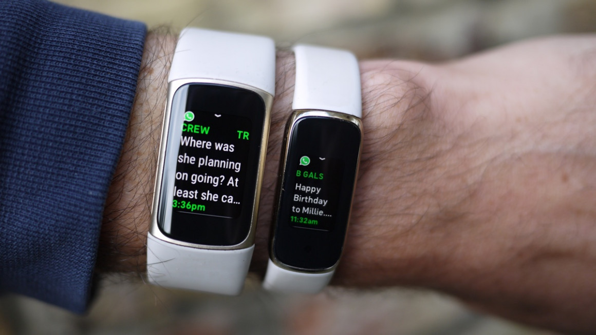 Fitbit Charge 5: Smartwatch and notifications