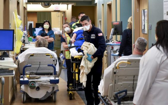 Once practically empty, ERs struggle with a surge of pent-up sickness : Shots